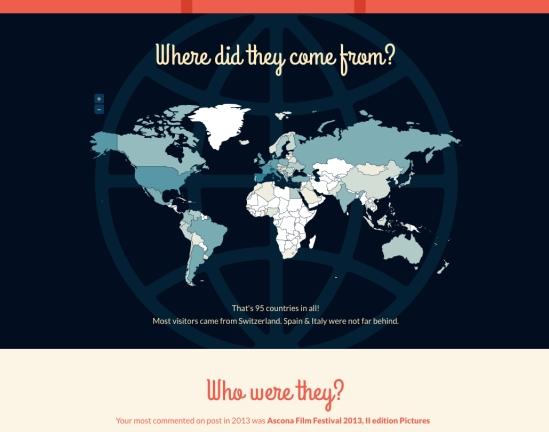 global visits 95 countries