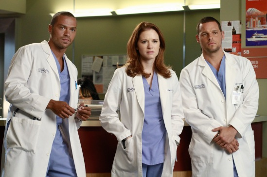 JESSE WILLIAMS, SARAH DREW, JUSTIN CHAMBERS
